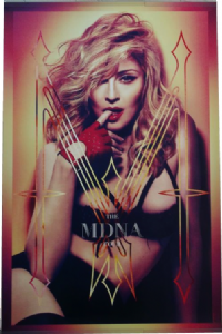 MDNA TOUR - OFFICIAL 2012 ICON GIFT ONLY POSTER